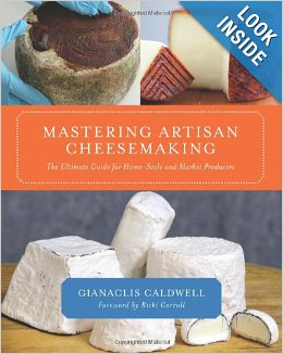 Mastering Artisan Cheesemaking at Amazon